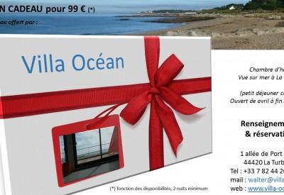 Bon cadeau d'une valeur de 99 €